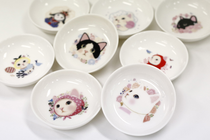 小皿は全部で8種類。
