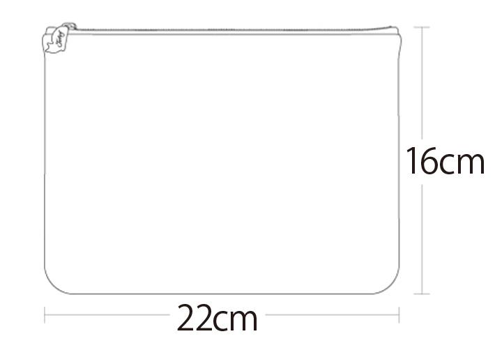コンパクトなサイズ感が持ち運びにも便利☆<br>マルチに活躍するクラッチバッグです♪