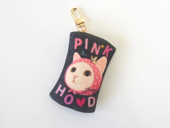 「PINKHOOD」の文字が<br>キュート!