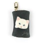 猫のフェルトコインケースチャーム コトン