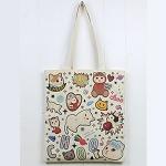猫のコットントートバッグ フレンズ