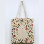 猫のコットントートバッグ ワンダー
