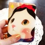 猫のウィンクカードケース 白雪姫