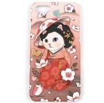 猫のiPhone7ハードケース ミョンウォル
