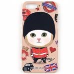 猫のiPhone7ハードケース ロンドン