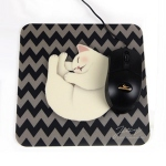 猫のマウスパッド おねむ