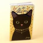 猫のコンパクト手帳 黒