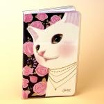 猫のコンパクト手帳 バラ