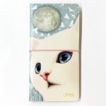猫のパスポートケースL(ノート付き) バード