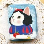 【ワケあり】猫のカード札入れ プレミアム 白雪姫