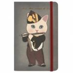 猫のアートノート 笛を吹く少年