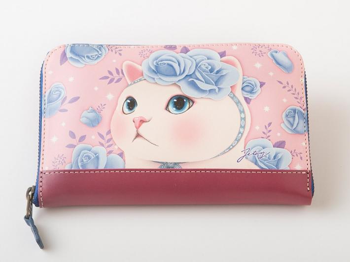 Jetoy Japanオリジナル!<br>とってもかわいい<br>猫の長財布♪