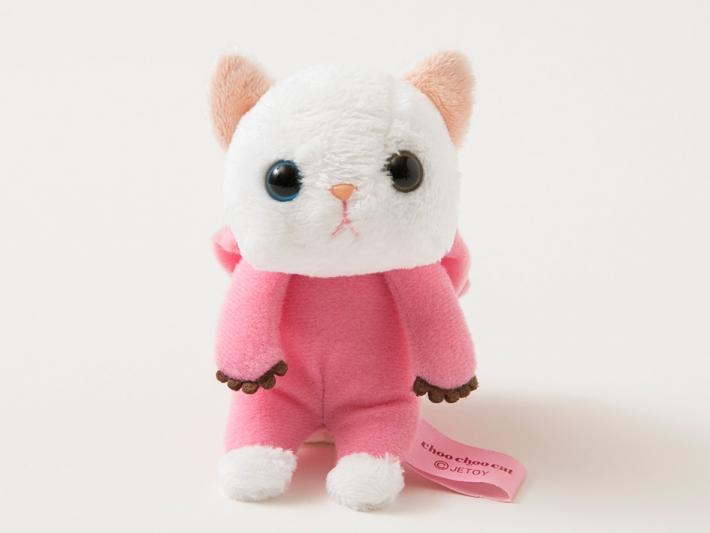 ずきんを脱がせることもできます!☆ ピンと立ったお耳があらわれます♪着せ替え人形みたいでちょっと楽しい☆ ※ずきんは首のところで縫い付けてあります。