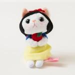 猫のぬいぐるみ 白雪姫 マスコット