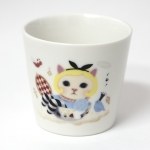 猫の湯のみ アリス