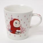 猫のマグカップ 赤ずきん2