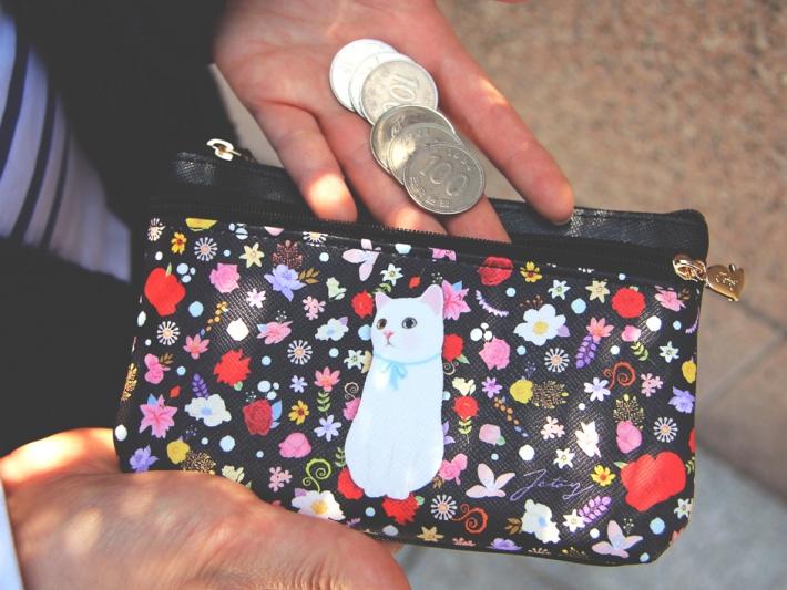 ダブルポケットだから<br>お財布代わりにしても使いやすい!