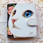 猫の財布 プレミアム2 白