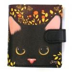 【ワケあり】猫の財布 プレミアム2 黒