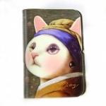 猫のウィンクカードケース ターバン
