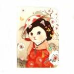 猫のウィンクカードケース ミョンウォル