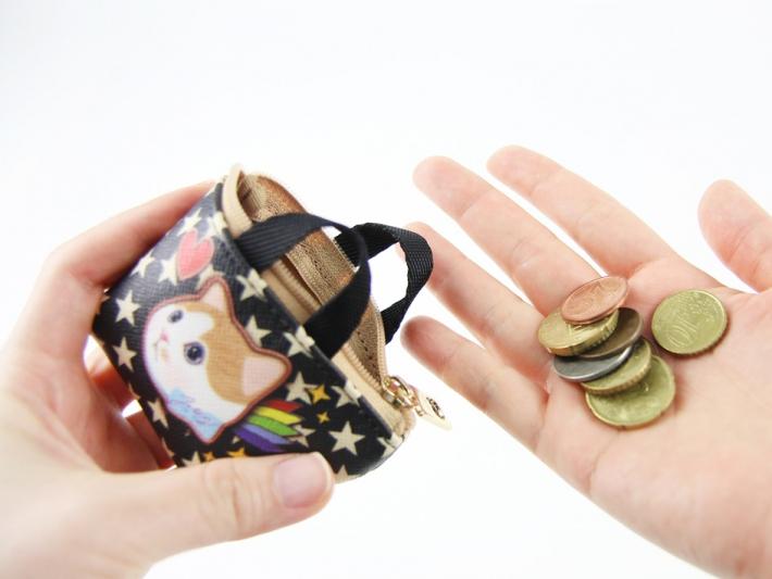 アクセサリー、イヤホン、充電器、<br>リップ、コイン、鍵…などなど、<br>いろいろなモノを入れて便利に使ってくださいね☆<br>