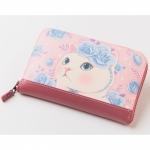 猫の長財布 ブルーローズ2