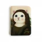 猫のウィンクカードケース モナ・リザ