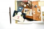 猫のパスケース プレミアム 白黒