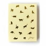 猫の手帳 パステル クリーム