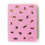 猫の手帳 パステル ピンク