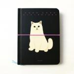 猫の手帳  ビビッド ブラック