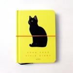 猫の手帳  ビビッド イエロー