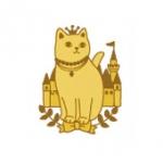 猫のメタルシール キャッスル