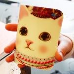 猫のカードケース ネックレス