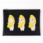 猫のクラッチバッグ2 バナナ