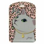 猫のネームタグ4 グレイレオパード
