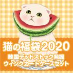 夏の猫福袋2020 韓国デッドストック発掘 ウィンクカードケースセット