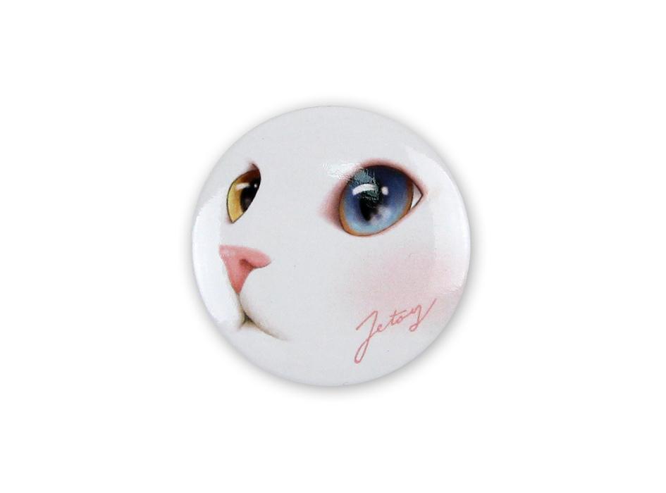 白猫のウルっとした瞳がとってもかわいい♪<br>毎日一緒にお出かけしたくなりますね♪