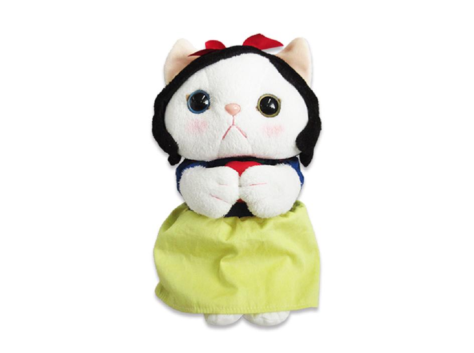 猫のぬいぐるみ 白雪姫 S
