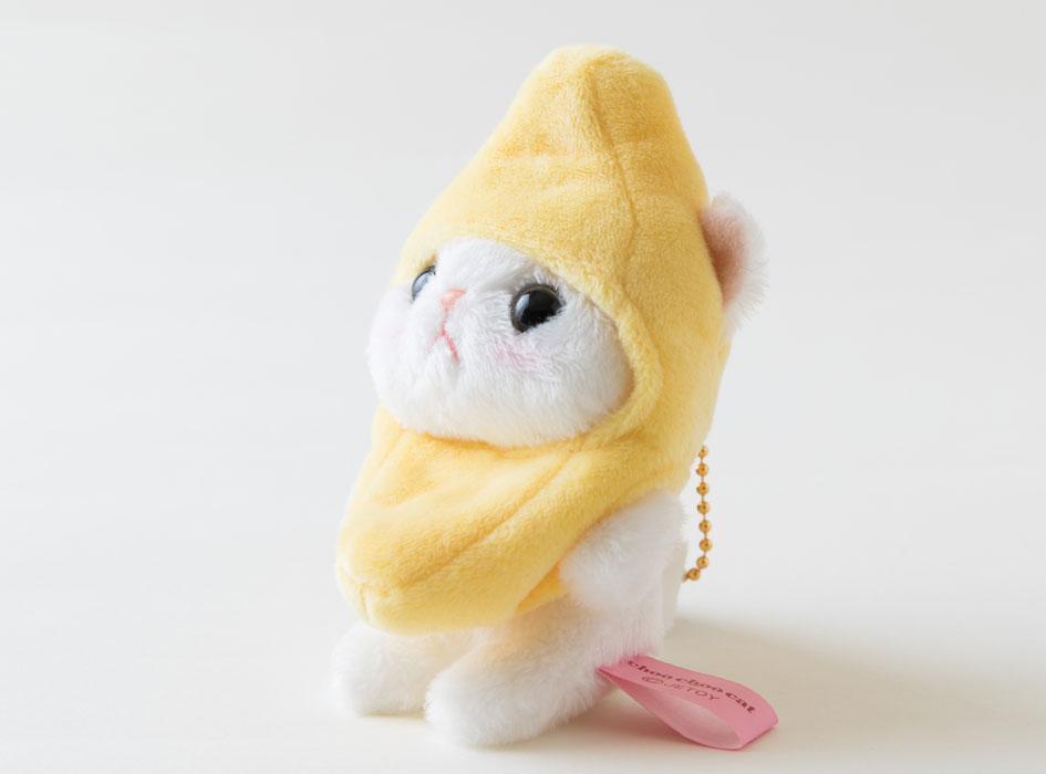 小さいけれど、しっかりとバナナを被っています☆