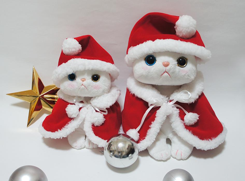 """他のサイズもご用意☆<br>あなたのchoo chooのぬいぐるみを<br>かわいいクリスマス仕様にしてください♪<br><br>※こちらのページは<br> choo chooのぬいぐるみ S用に合う<br> サイズのご注文ページです。<br><br>→<A Href=""""http://www.choochoo.jp/i/AX079"""">M用のコスチュームは<br> こちらをチェック!</a>"""