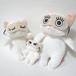 猫のコスチューム アイマスク3個セット