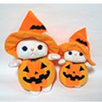 猫の着ぐるみコスチューム ハロウィン・かぼちゃ