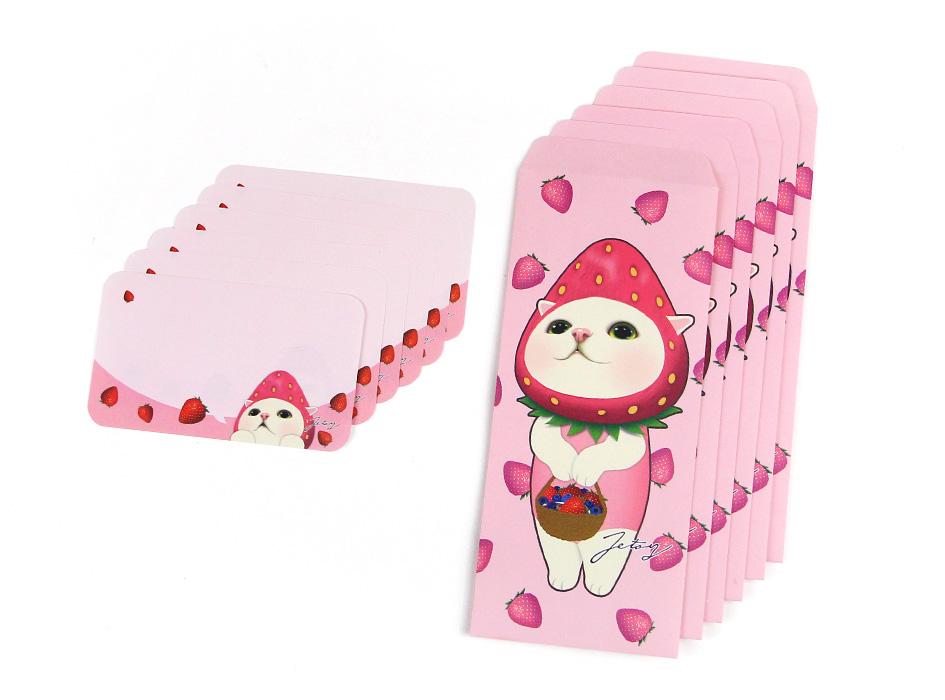 封筒とミニカードは、各6枚ずつ入っています☆