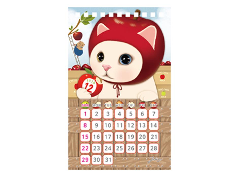 最後の12月を彩るのは、<br>りんごのchoo choo☆<br>真っ赤なりんごをまるかじりする姿は、<br>とってもキュート♪