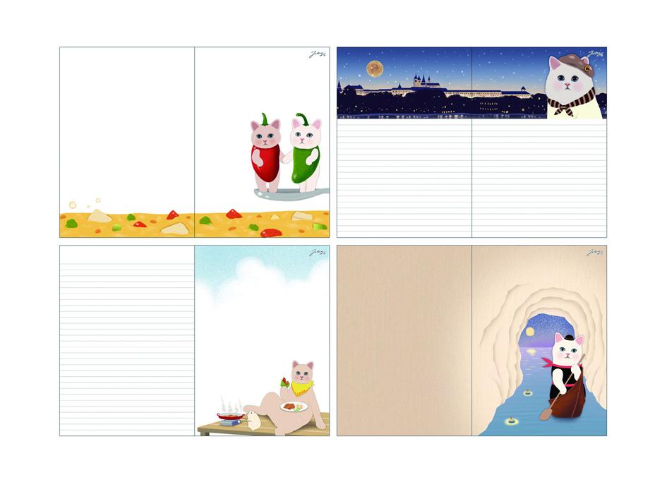 フリーページにはイラストがたくさん♪<br>アイデア次第で、<br>さまざまにお使いいただけます♪