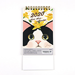 猫の卓上カレンダー2020