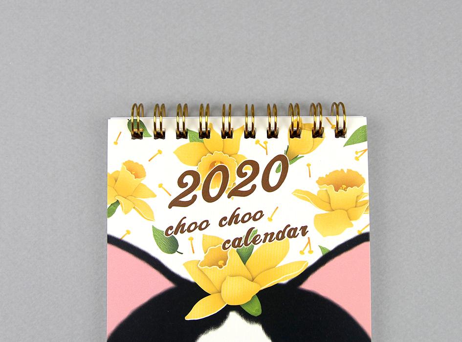 カレンダーの上部は<br>めくりやすいリング式です◎<br>デスク、玄関、リビング、自室・・・<br>お好きなところに飾ってください☆
