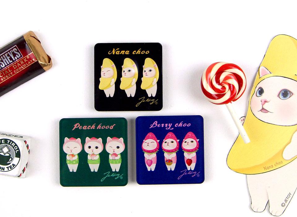 バナナ、ピーチ、いちご♪ <br>大人気のフルーツ猫が大集合!